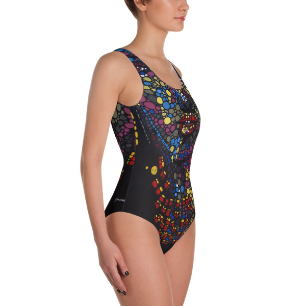 Art One-Piece Swimsuit