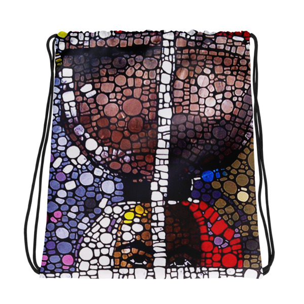 Market Square Drawstring bag - My Beyond Art