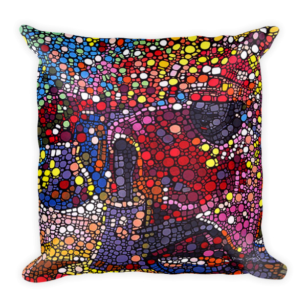The Potter Art Square Pillow - My Beyond Art